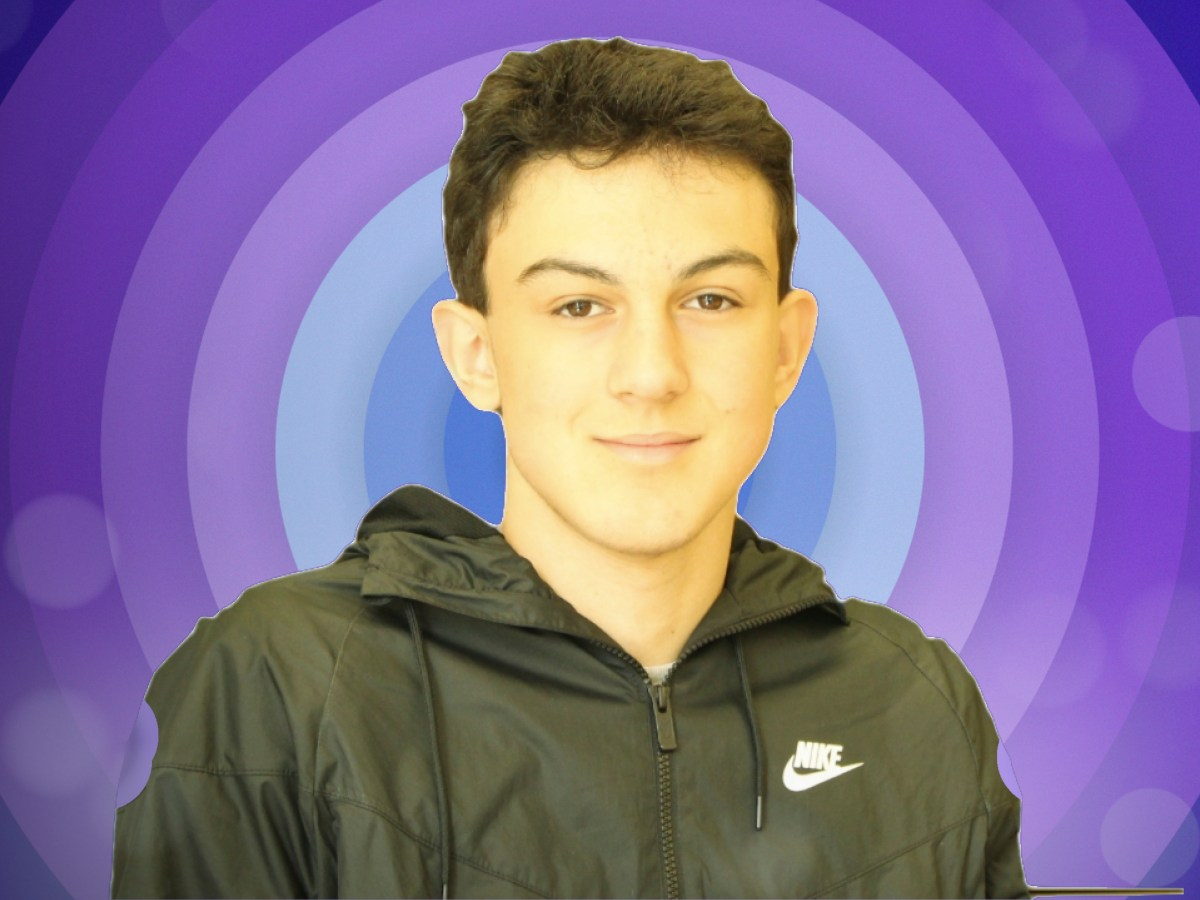 Grade 11 Rep. Candidate: Chris Gratsas