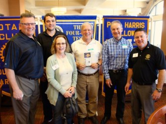 Presentation at Four Peaks Rotary