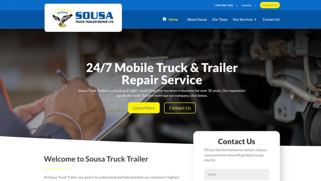 Recent Work - Sousa Truck Trailer