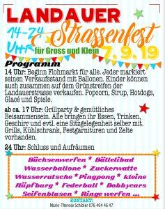 Strassenfest Landauer