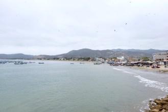Puerto López - Blick von der Mole