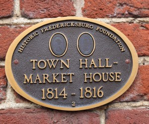 The Town Hall-Market House State Marker