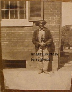 Image provided by Jerry Brent's collection, pictures George Washington Triplett in 1903. (2)