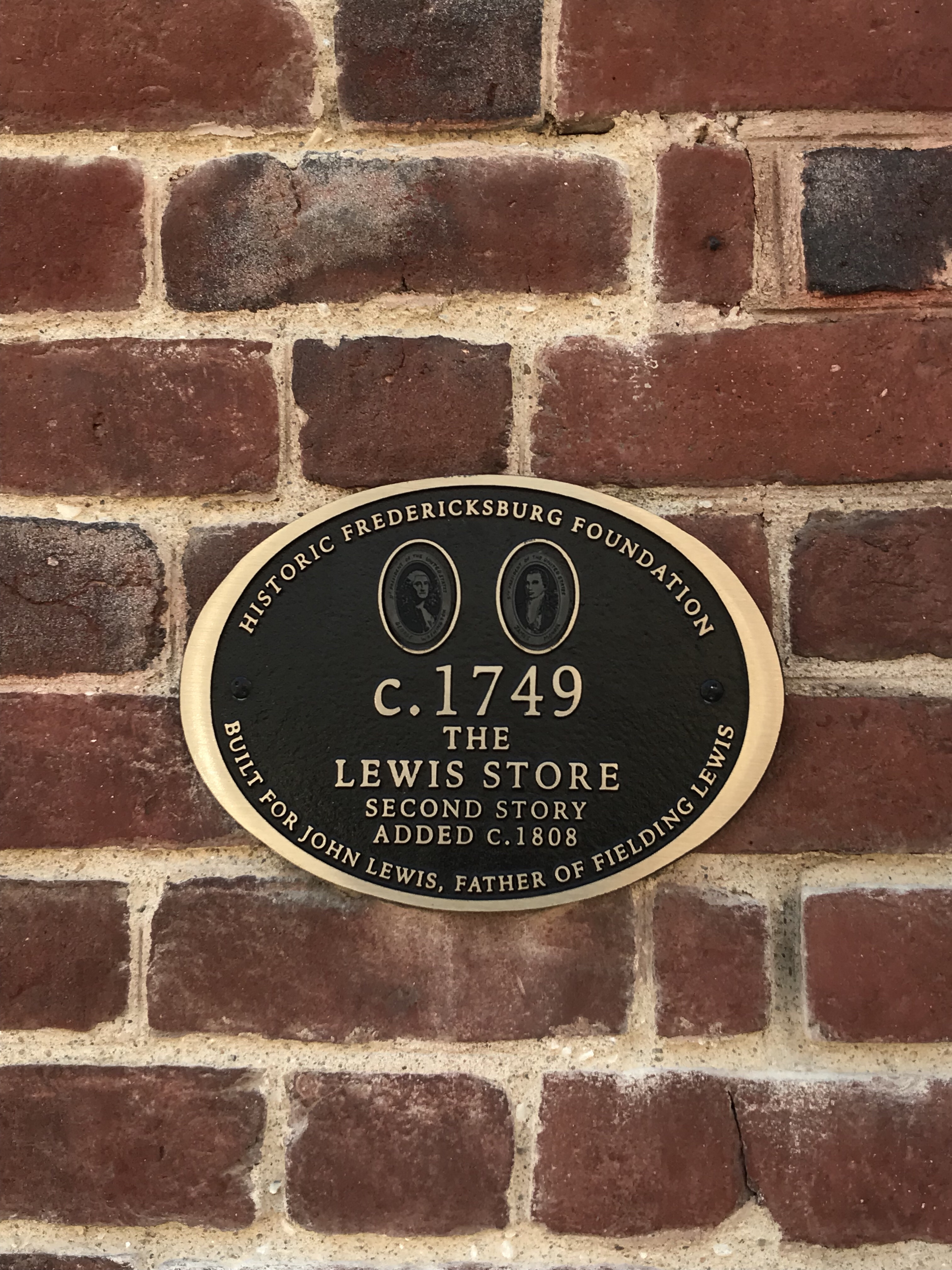Picture of The Lewis Store building State Marker