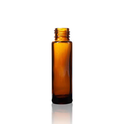 Amber 10 ml Roll-On Glass Bottle