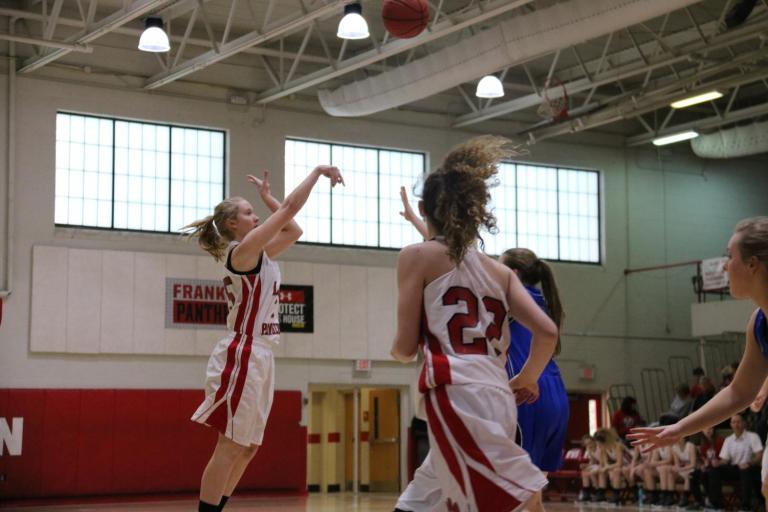 JV Women's Basketball 18