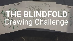 Video: The Blindfold Drawing Challenge