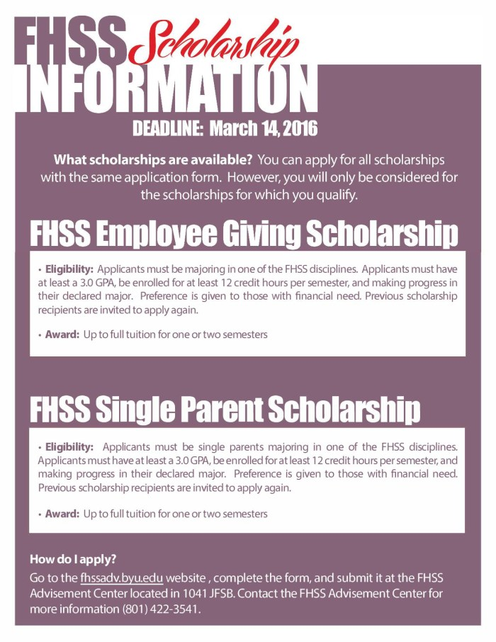 FHSS Scholarships flyer2016-page-001