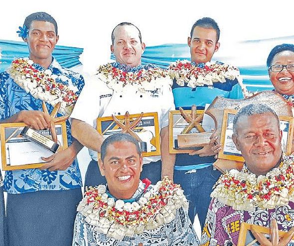 Resort acknowledges staff members at function