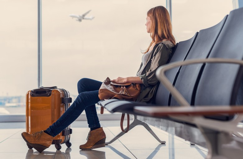 Americans are happy to pay more than a third more for a non-stop flight than Britons but expect a shorter layover if they can't fly direct