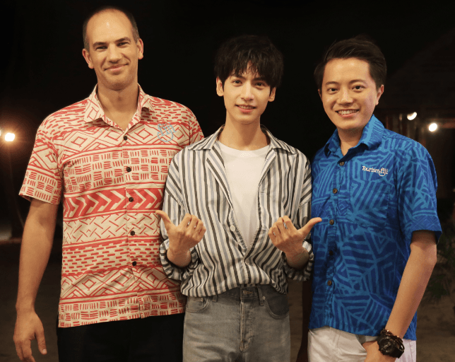 Tourism Fiji Hosts Top Chinese Celebrity Mr Luo Yunxi