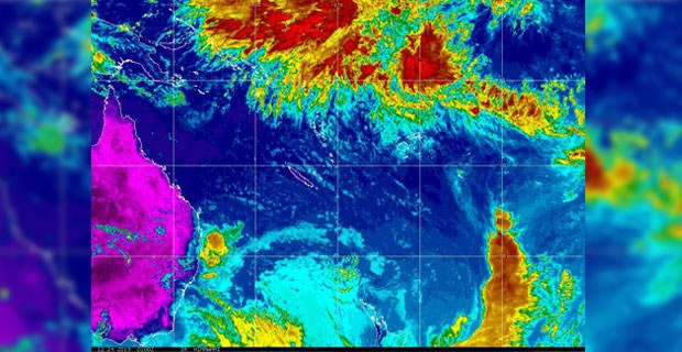 Low pressure system to the far north of Fiji upgraded to a Tropical Disturbance