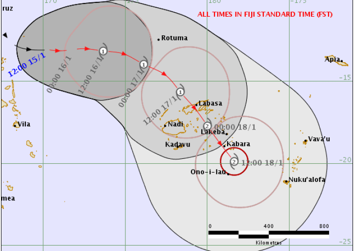 Media Release No. 54: Fiji is expected to be on Tropical Cyclone Alert from this evening