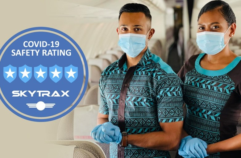 Fiji Airways receives the highest 5-Star COVID-19 Airline Safety Rating