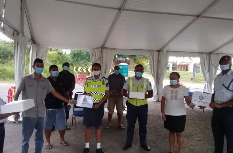 Fiji Marriott Resort Momi Bay – Community Care Towards Authorities at the Nawai Police Post