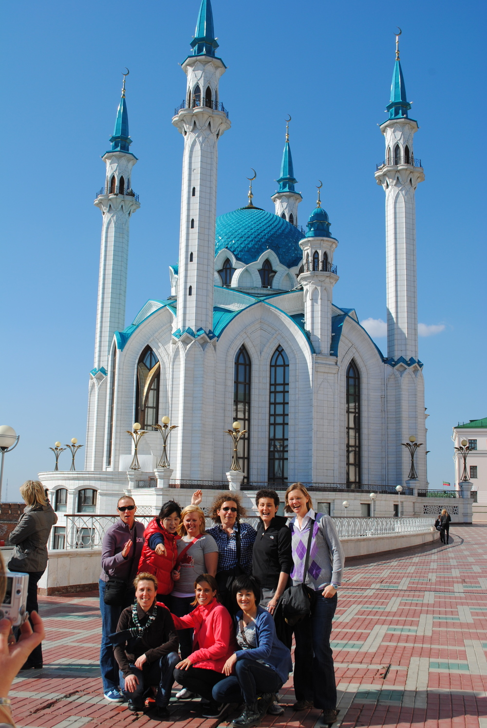 Kazan Mosque with the gang.