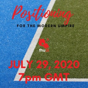 Positioning for the modern hockey umpire, how to adapt to the modern game