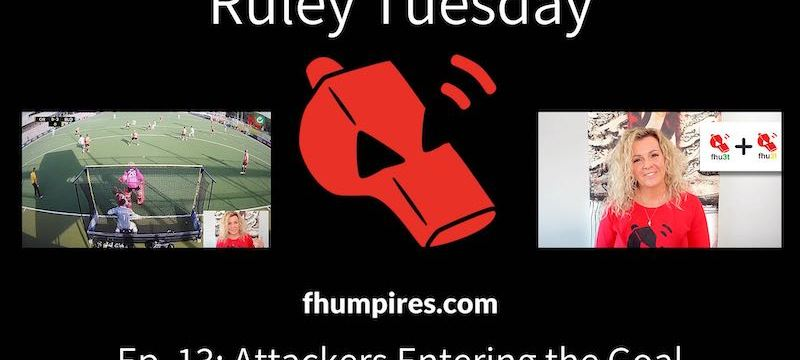 Attackers Entering and Running Behind the Goal | How to Apply the Rules of Hockey | #RuleyTuesday Ep. 13