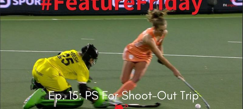 goalkeeper penalty stroke shoot-out video referral intentional stick obstruction danger