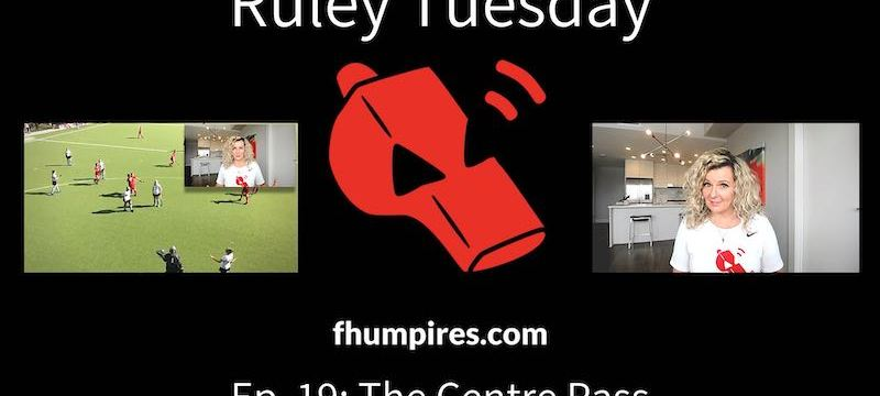 The Centre Pass | How to Apply the Rules of Hockey | #RuleyTuesday Ep. 19