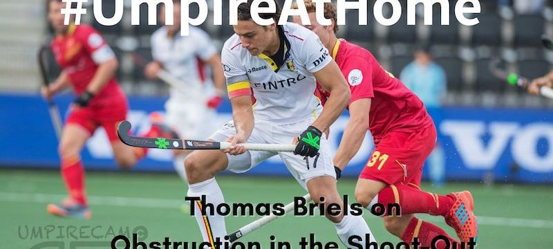 attacker obstruction shoot-out Thomas Briels