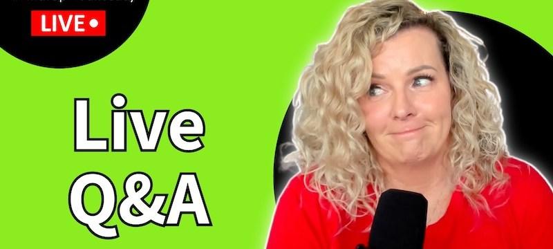 Live Q&A #WhatUpWednesday Ep. 45