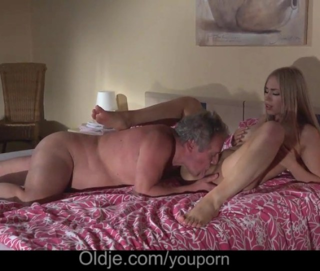 Gorgeous Blonde Girlfriend Crazy Fucking Fat Grandpa After Romantic Blowjob Free Porn Videos Youporn