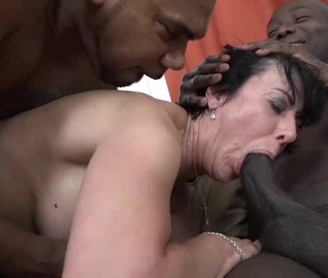 Granny Threesomes With 2 Black Men Shoving Cocks In Her Mouth And Pussy Free Porn Videos Youporn