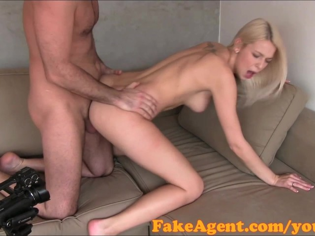 Fakeagent Creampie For Hot Blonde Amateur In Casting Free Porn Videos Youporn