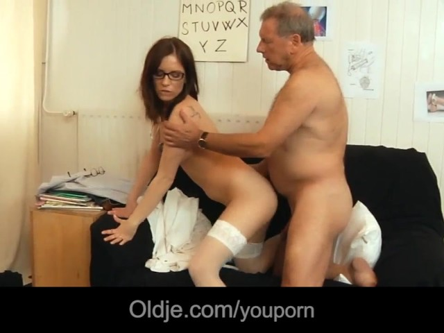 Old Man Rejuvanates After Fucking Young Brunette Free Porn Videos Youporn
