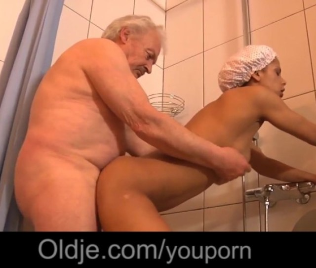 Creole Hot Teenager Invites Grandpa Under Shower For Fuck Free Porn Videos Youporn