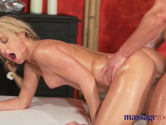 Massage Rooms Blonde Babe Gets Fucked And Creampied By Girls Boyfriend Free Porn Videos Youporn