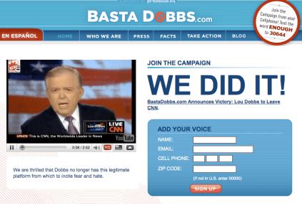 Basta Dobbs celebrates victory.