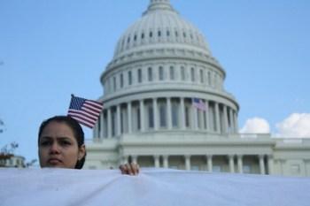 Immigration activists marched on the Capitol last October - Photo: Jelena Kopanka/Fi2W