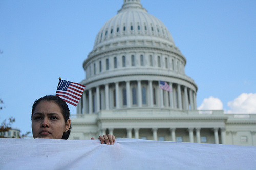 Immigration activists marched on the Capitol last October - Photo: Jelena Kopanja/Fi2W