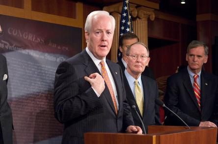 Texas Sen. Jon Cornyn may be the 2nd GOP supporter for the immigration reform bill - Photo: Sen. Cornyn's Office