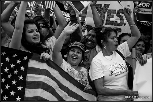 Immigration Rally in Washington, DC