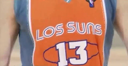 Los Suns Jersey