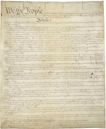 U.S. Constitution - Photo: Chuck Coker/flickr