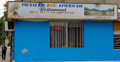Mexican and American Restaurant on Staten Island - Photo: Julia Manzerova/Flickr
