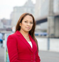 Qudsia Awan, an independent candidate for the New York State Assembly - Photo: Mohsin Zaheer