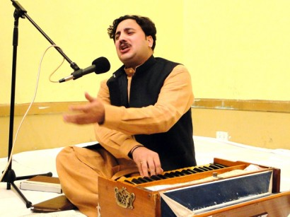 Pashtun musicians performed on Pashtun Day in Brooklyn, NY - Photo: Mohsin Zaheer