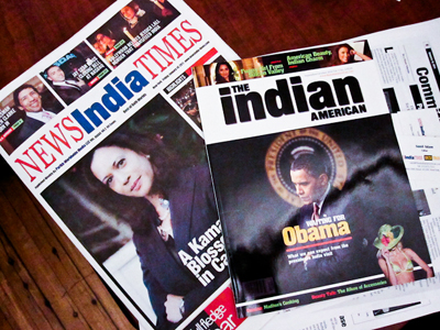Newspapers targeting Indian Americans