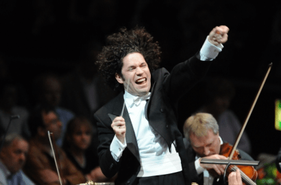 (Photo from Gustavo Dudamel's website, copyright Chris Christodoulou)