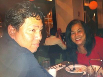 The author's parents