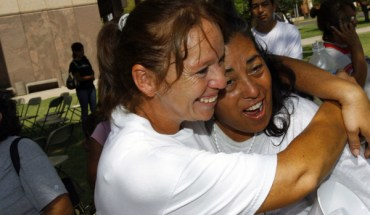 Opponents of SB 1070 Celebrated After A Federal Judge's Injunction