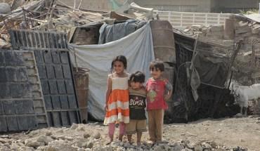 Internally displaced children in Iraq - Photo: Dave Malkoff