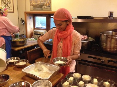 Cooking in Sufi Mosque