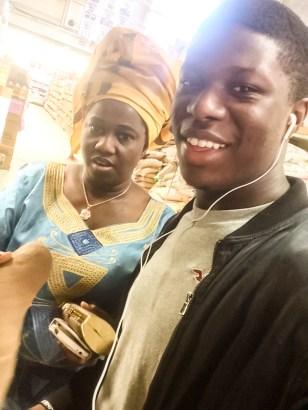 Olufunke Obadina and her son, Michael Obadina