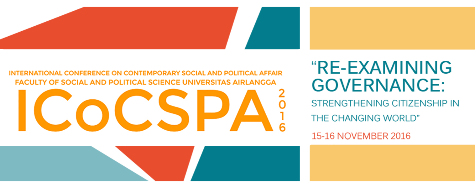International Conference on Contemporary and Political Affair ICoCSPA Call for Abstracts